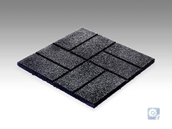 Резиновая плитка с рисунком ECO Comfort
