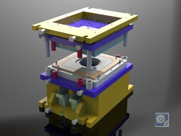 технологическая оснастка для холодной штамповки прессования пластмасс