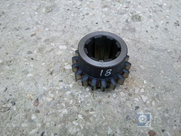 Зубчатое колесо третьей оси m-6 z-18 1А64.02.865 (Для станков 1М65  1Н