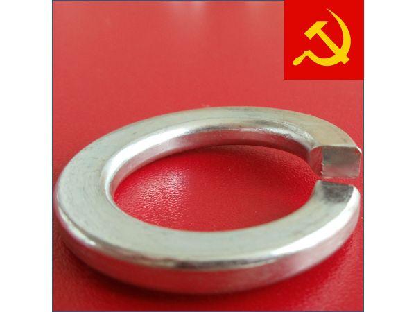 Гровер шайба в горячем цинке в коробках 25 кг ГОСТ 6402-70 (DIN 127)