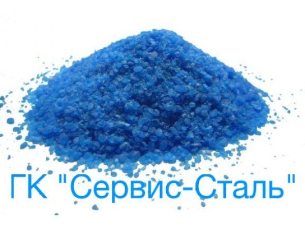 Медный купорос (сульфат меди) ГОСТ 19347-99 мешки 25 кг - 120 000 р/тн