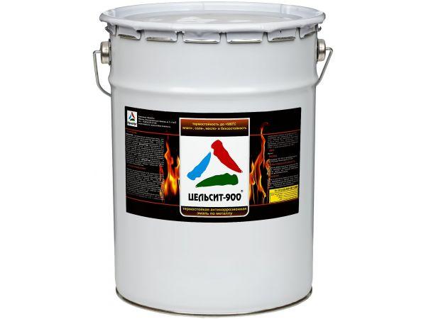 Цельсит-900 - жаростойкая эмаль по металлу