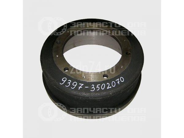 Барабан тормозной для полуприцепа МАЗ 9506, 9758-30, 938662, 93802