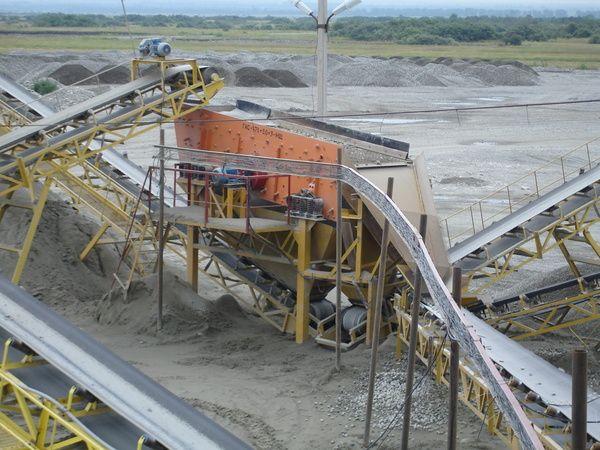 Сортировка щебня, гравия, пгс, песка, до  250 м3/ч