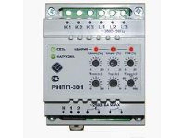 Реле напряжения 3-х фазный монитор напряжения РНПП-301