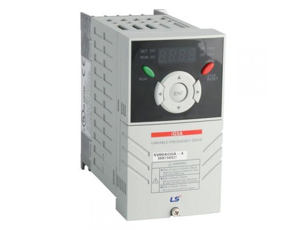 Частотный преобразователь LG SV008iG5A-4  0,75 кВт, 380В. в наличии