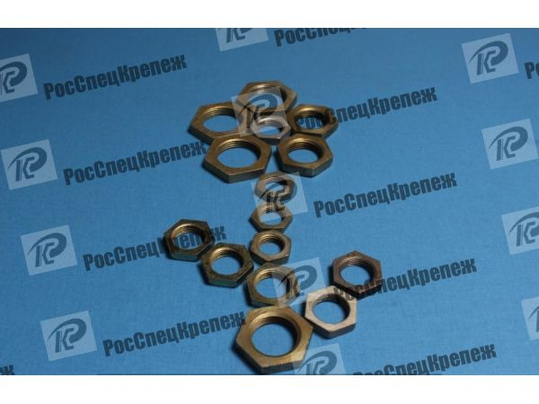 Контргайка стальная Ду8-Ду100 ГОСТ 8968-75