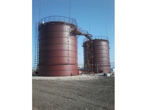 Резервуар вертикальный стальной, рулонное исполнение: РВС 700м3