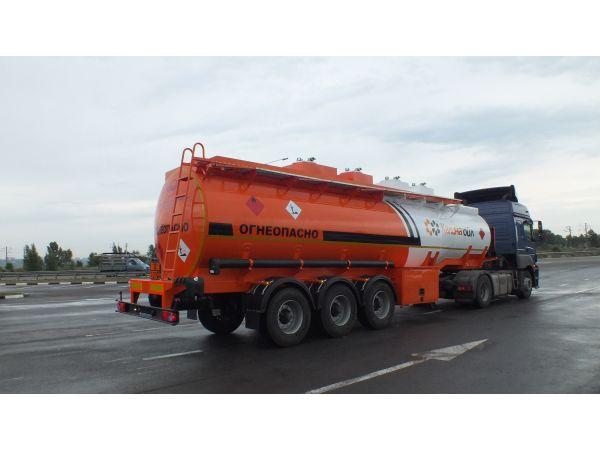 Цистерна полуприцеп бензовоз в наличии BONUM 28 м3