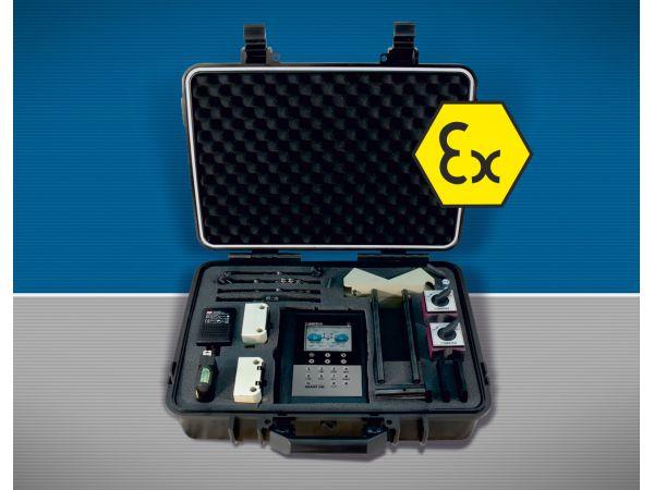 Новая взрывозащищенная система для лазерной центровки валов и ремонта
