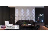 Декоративная дизайнерская панель 3D Artpole, Гипс, M-0023 Ampir.