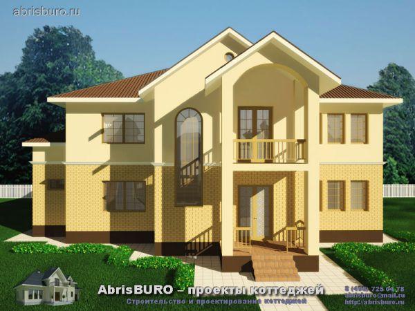 Проекты коттеджей, домов, вилл, особняков