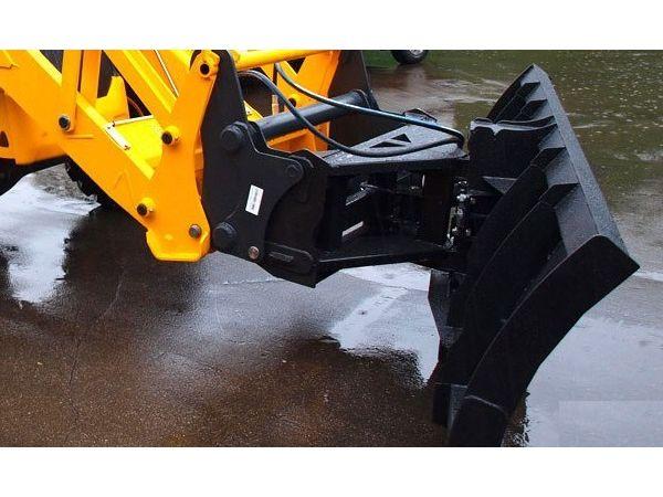 Ротор для уборки снега на трактор