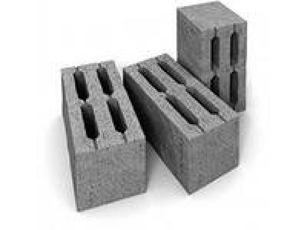 Керамзитобетонные блоки, шлакоблоки.