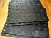 Резиновая плитка для укладки пола на стяжку РЕЗИПЛИТ-Монета
