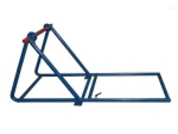 ДК-11РМ - Кабельный домкрат. Рычажный домкрат для размотки кабеля