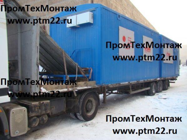 мобильная, модульная насосная станция, установка насосная в контейнере