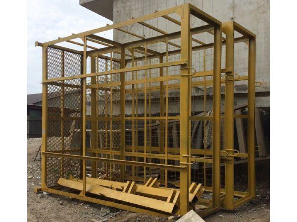 Площадка навесная для каменщиков (клетка)