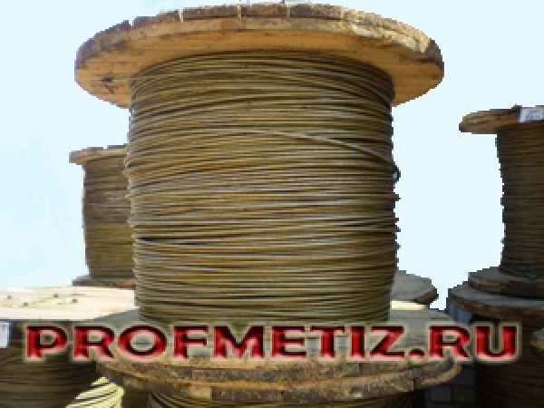 Трос МЗ-В-ОЖ-Н-Р молниезащитный ф 8,0 - 22,5 мм.