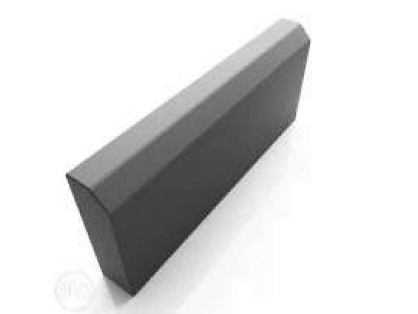 Производители бетонных садовых вибропрессованных бордюров (серый)