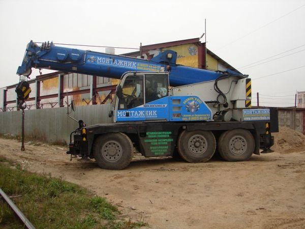 Аренда автокрана 40 тонн - 16000 р/смена