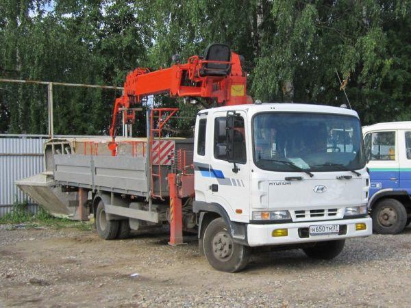 Услуги манипулятора 7 тонн - 1200 р/час