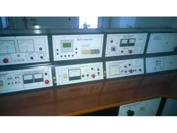 Высоковольтные испытания и поиск мет повреждений кабельных линий: *испытание силовых кабельных линий повышенным