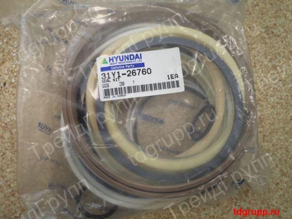 31Y1-26760 ремкомплект гидроцилиндра ковша Hyundai R500LC-7