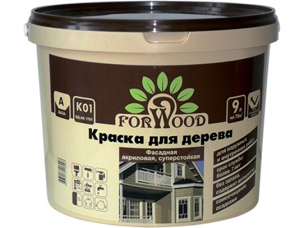 Forwood краска для дерева ВД-АК 1701