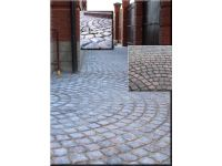 Тротуарная плитка «Булыжник средневековый» и мощение.