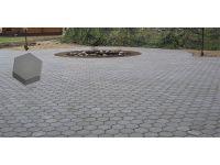 Тротуарная плитка «Шестигранник» 220х220х60 вибропресс.