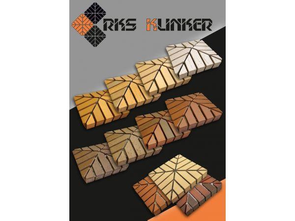 Кирпичные колпаки на столбы забора RKS-Klinker!
