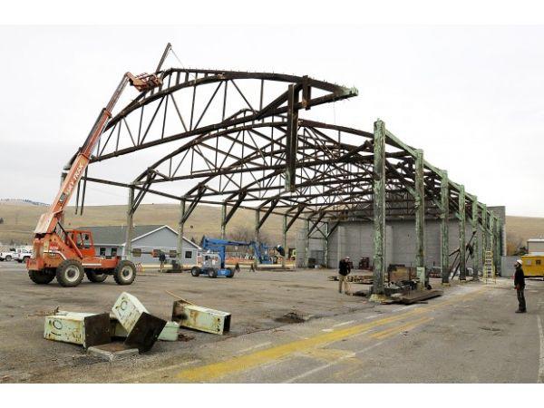 Расценка в смете на демонтаж металлоконструкций