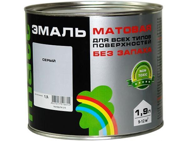Эмаль цветная матовая Матт Радуга 215 вд-пф 215
