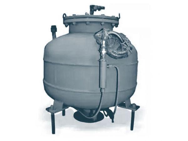 Фильтр-газоотделитель ФГУ-150-1,6-600 Ду 150 Ру 16, 100 мкм