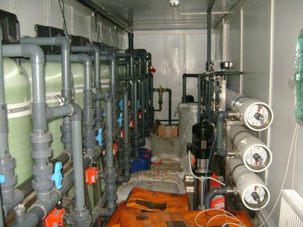 Модульная станция обезжелезивания воды Сокол 15 - 140 м3/час