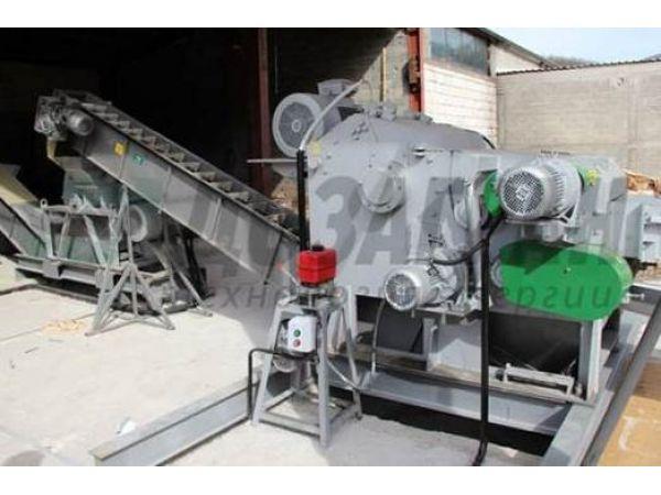 Барабанная рубительная машина для производства щепы Доза-Гран