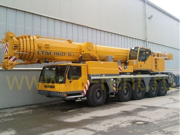 Аренда и услуги автокрана грузоподъемный 160 т. 68м+гусек-24мLiebherr