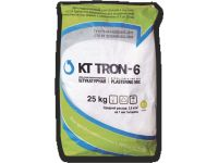 Штукатурная смесь гидроизоляционная  КТтрон-6 выравнивающая,финишная