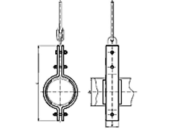 Блоки пружинные для трубопроводов ТЭС, АЭС