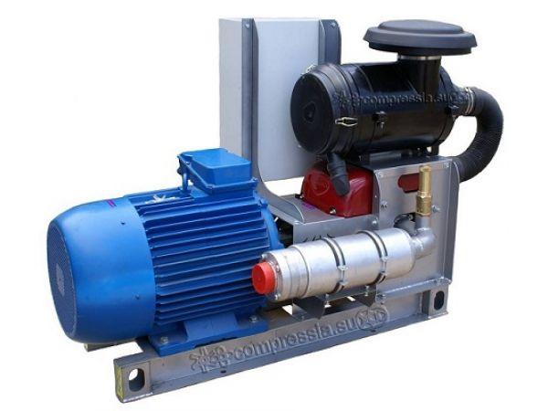 Компрессорный агрегат XK18 с 55кВт электроприводом