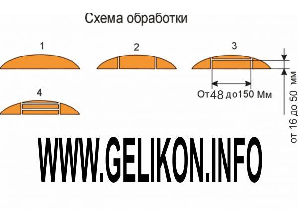 Станок горбыльно-перерабатывающий ГП-500-1 трехпильный ЦЕНА 158000 руб