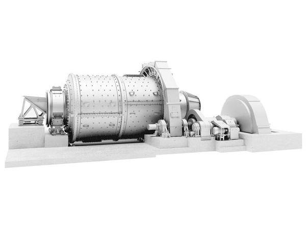 Шаровая мельница МШР 3200х3800
