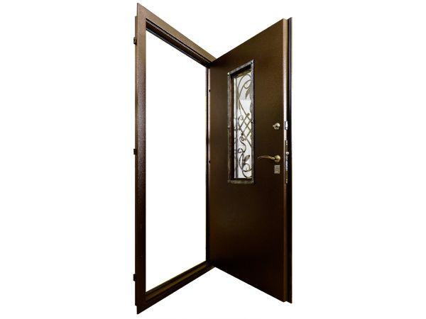 Стальная дверь Гранит Коттедж