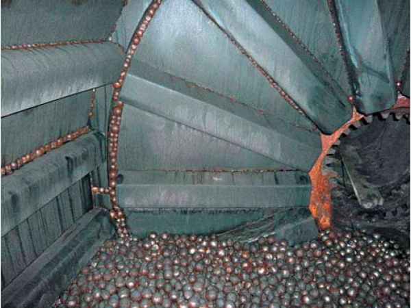 Футеровка шаровых мельниц