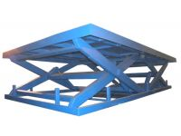 Подъемные столы с последовательными ножницами