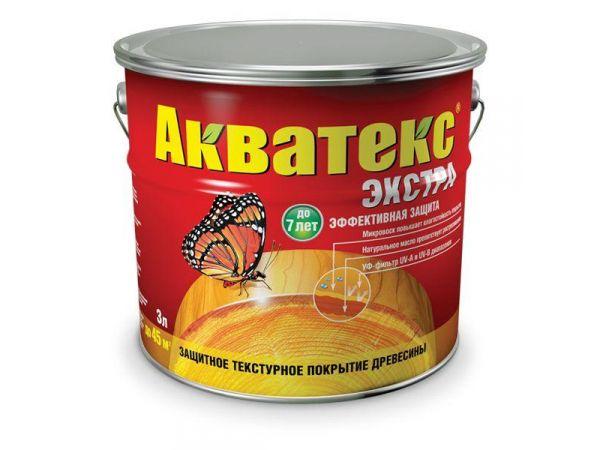Краска для древесины Акватекс