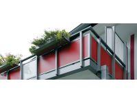 Пластик HPL морозостойкий для отделки фасадов и балконов, Россия
