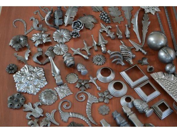 Кованые каминные аксессуары от кузни Династия