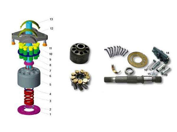 Гидромотор  Bosch Rexroth А2F 28 L 3 Z 4